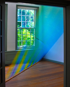 "Gabriel Dawe/ USA: ""Number 23"", site-specific thread installation"