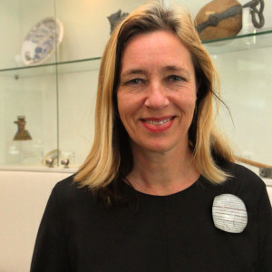 Ingeborg de Roode, curator for industrial design at the Stedelijk Museum Amsterdam; keynote speaker at the 17th ETN Conference; photo Piet Noordermeer