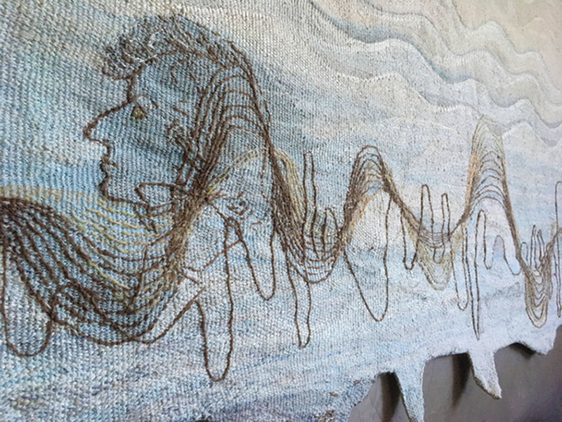 "Monique Lehman, USA: ""Chopin´s Coat""; tapestry"