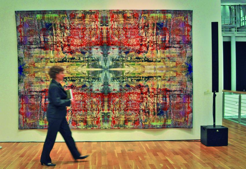 Horst Richter: Musa, 2009, Jacquard-woven, Edition CR141 , 276 x 378 cm