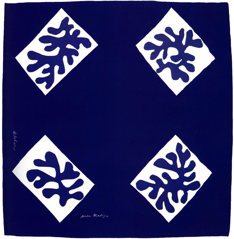 """Echarpe No 1"" by Matisse for Ascher Ltd."