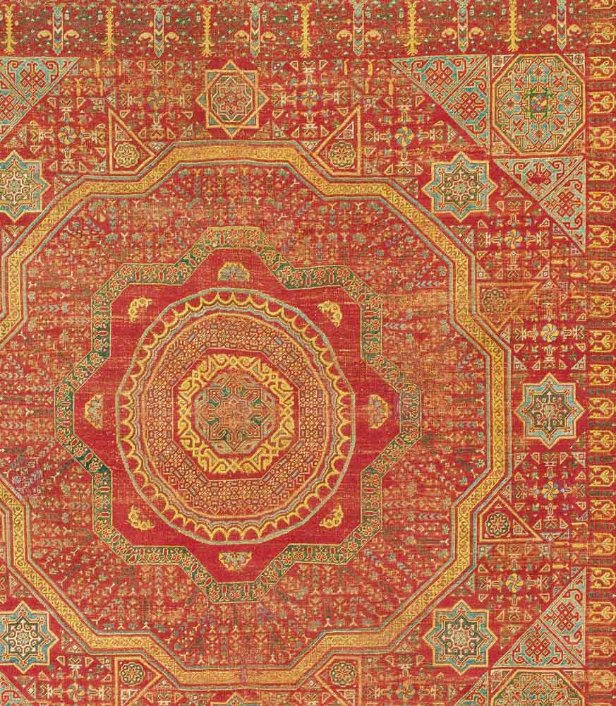 Mamluk Carpet, fragment, Mamluk Empire, Egypt,