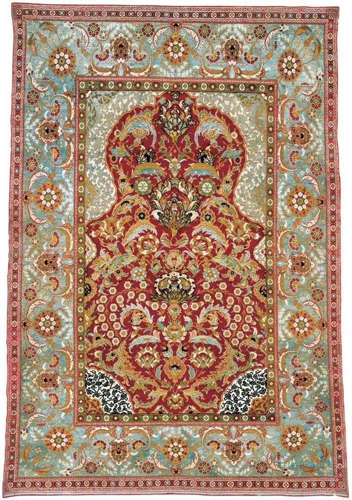 Ottoman Carpet, niche or prayer carpet, Ottoman Empire
