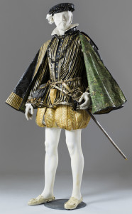 Henri ll King of France and husband of Catherine de Medici, created by Isabelle de Borchgrave