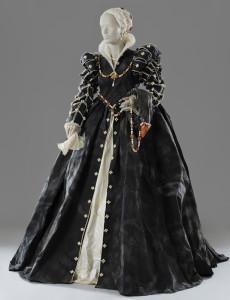 Isabelle de Medici (1542 - 1578) created by Isabelle de Borchgrave