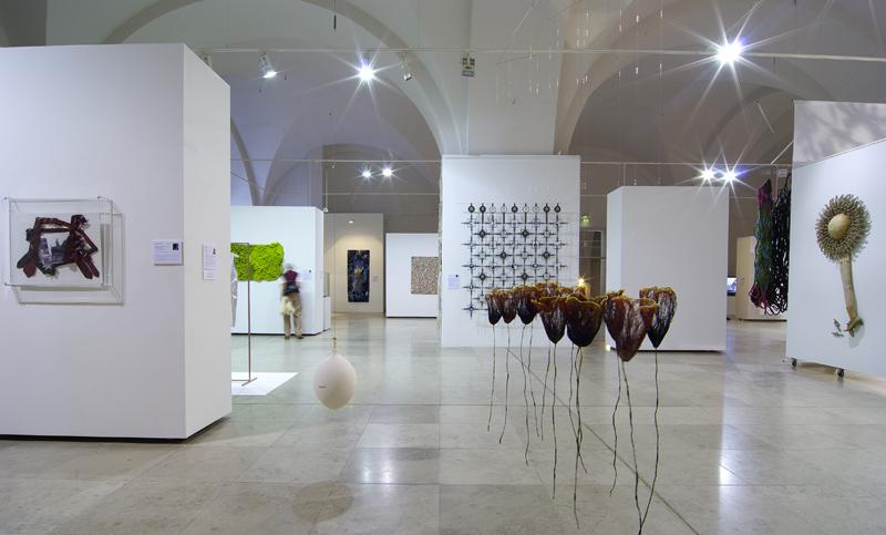 Riga Art Hall Arsenals during the 4th riga Intl. textile & Fibre Art Triennial