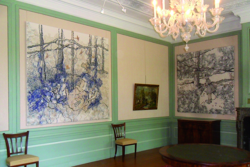Marijke Breuers /NL: Collage clothes, 2011 at the Rijswijk Museum