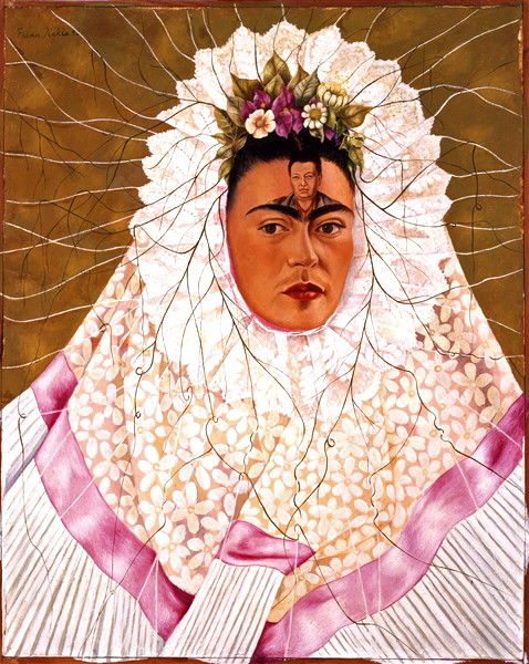 Frida Kahlo: Self-Portrait with Tehuana, 1943 © The Vergel Foundation, Collezione Jacques and Natasha Gelman, Città del Messico, by SIAE 2014