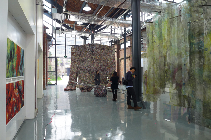 The 7th Contemporary International Fiber Art Biennial 'From Lausanne to Beijing', 2012 in Nantong, photo Beatrijs Sterk