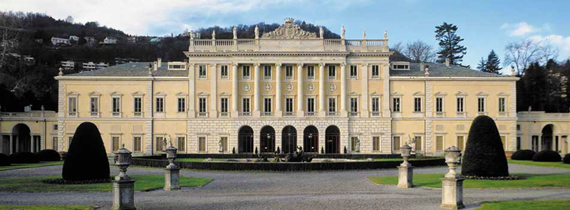 The Villa Olmo in Como, venue of the Miniartextil exhibition