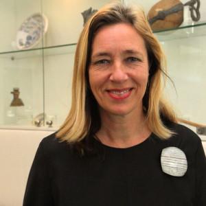Ingeborg de Roode, curator for industrial design at the Stedelijk Museum Amsterdam; keynote speaker at the 17th ETN Conference; photo Piet Noordermeer