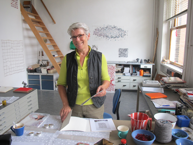 06_Marian Bijlenga in her studio