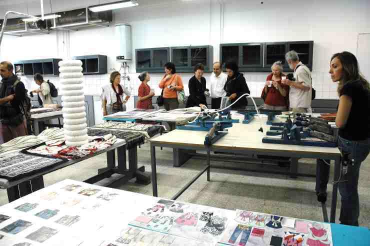 View at the Printing Workshop at the Marmara University in Istanbul
