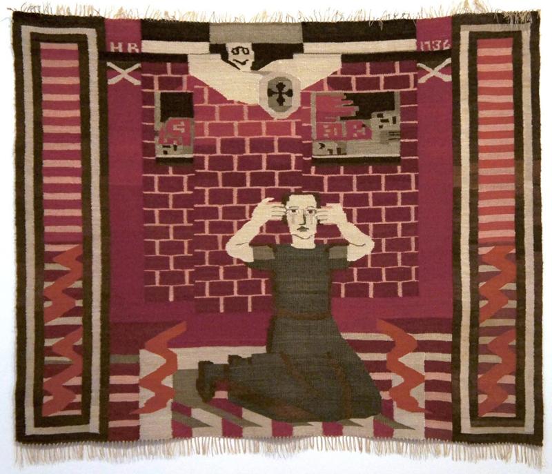 Hanna Ryggen: Gru (horror), tapestry 1936