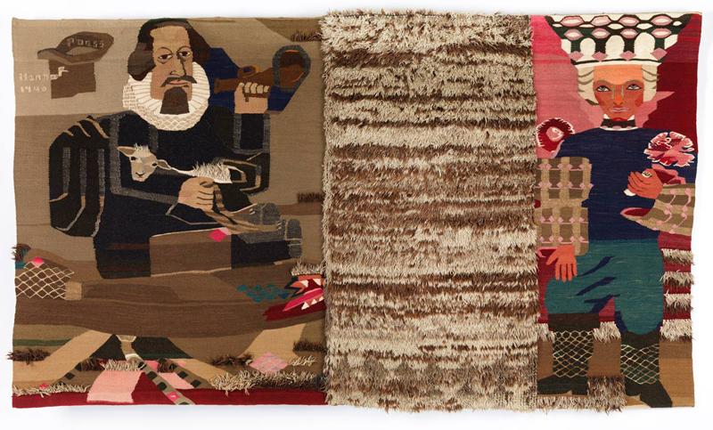 Hannah Ryggen: Petter Dass, 1940, tapestry