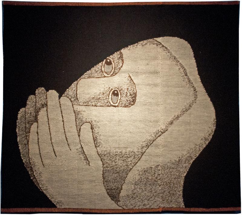 Betende (Praying) complete tapestry