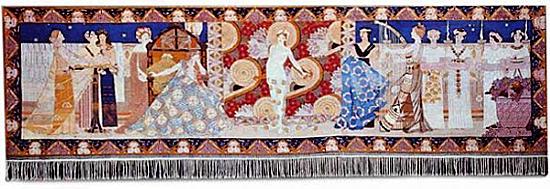 """""""Salomes dans"""" (Salome´s Dance, 1900, 193 x 684 cm"""