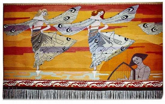 """Libellenes dans "" (Dance of the Dragonflies) 1901., detail"
