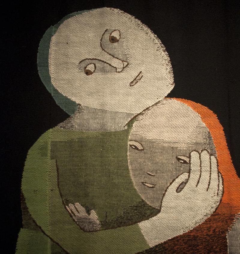 Mutter und Kind (Mother and Child), detail