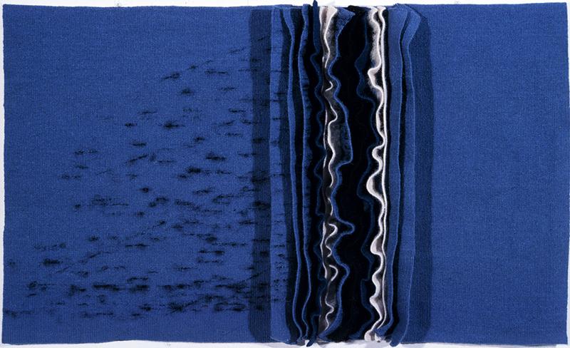 Cyril Bourquin Espaces pour les vagues, 1976-1977 Fondation Toms Pauli, APP062 Donation du CITAM Photo: J.D. Rouiller, La Sarraz