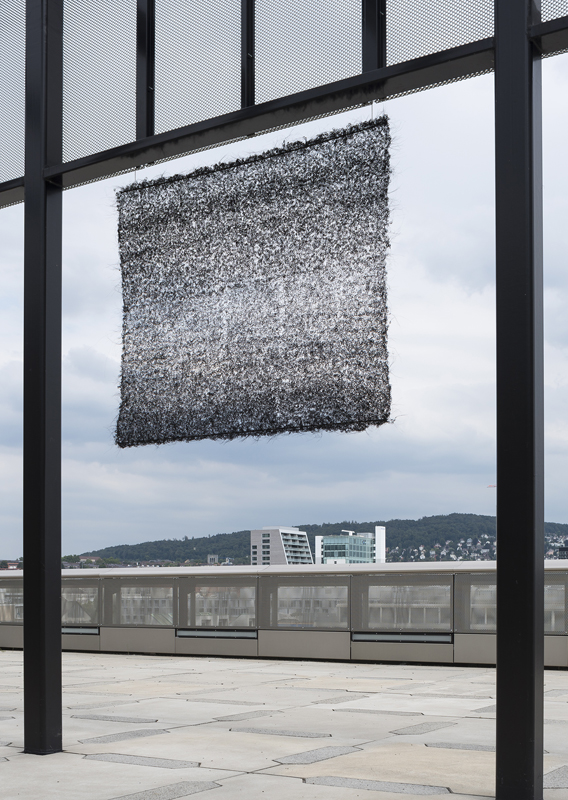 Pierret Bloch Maille de crin, 1983-1984 Museum für Gestaltung Zürich, Applied Art Collection Photo: FX.Jaggy & U.Romito, Museum für Gestaltung, © ZHdK