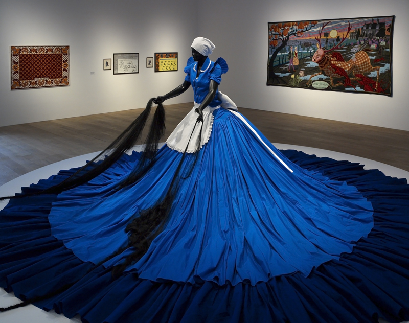 "Mary Sibande, ""Sophie Velucia and Madame CJ Walker"", 2009Courtesy the artist and Gallery Momo, Johannesburg"