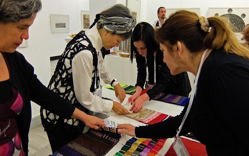 Reiko Sudo`s conference workshop 'Tsugi-Hagi'