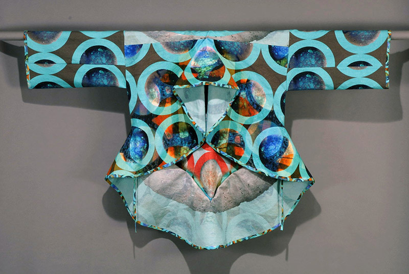 Jean Parsons, USA & JR Campbell, Scotland; entry Wearable Expressions 2008