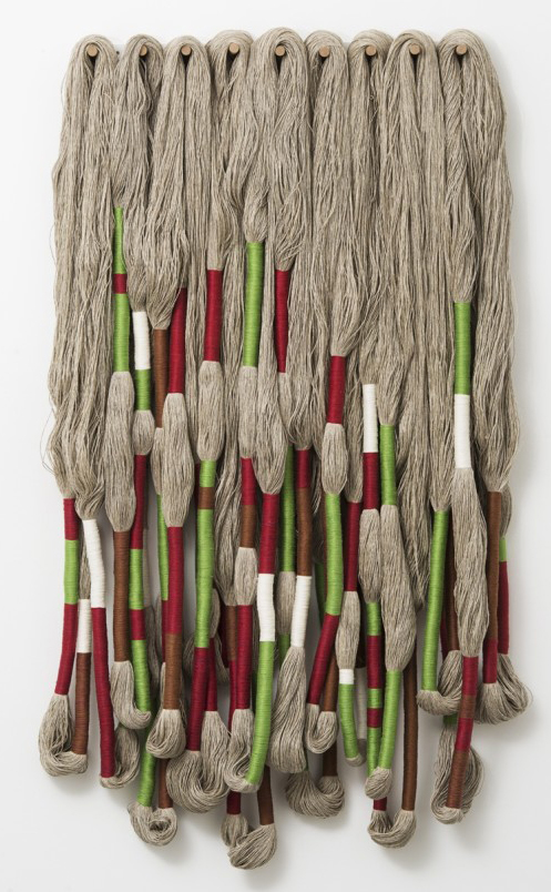 Sheila Hicks, Sculpture Bas Relief, 2016