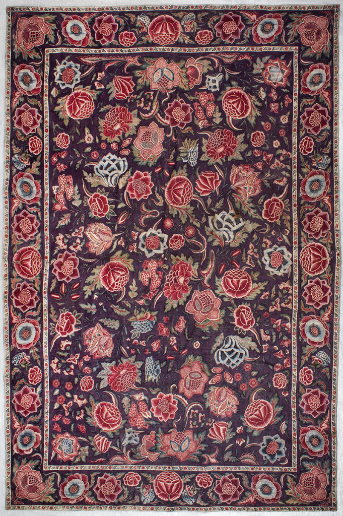 "Chintz palempere wth flowers; India 1700-1725, Fries Museum Leeuwarden – collection ""Koninklijk Fries Genootschap""; photo © Fries Museum Leeuwarden."