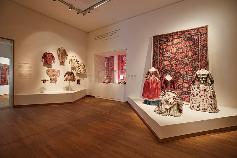 Chintz, Cotton in Bloom, view at the exhibition of the Fries Museum; Leeuwarden; photo - Erikjan Koopmans